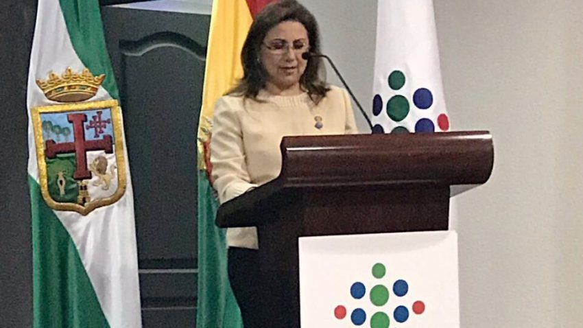 Carmen Cueto, Presidente del Rotary Club Santa Cruz de la Sierra