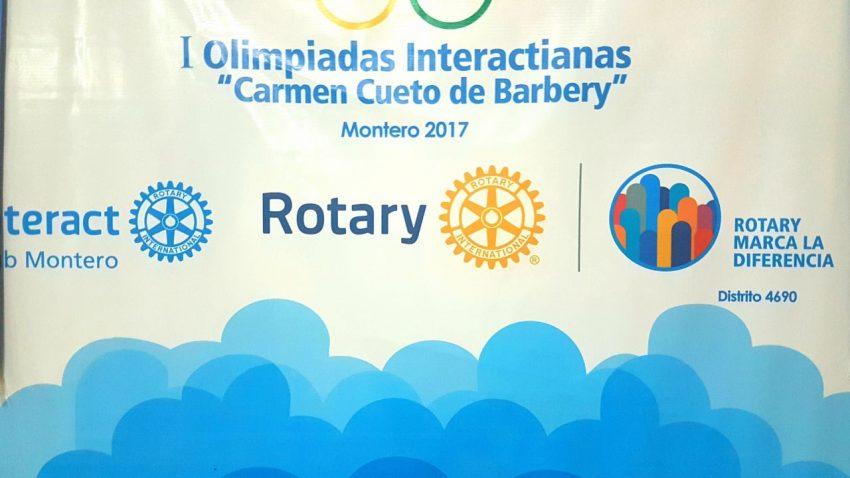 """I Olimpiadas Interactianas """"Carmen Cueto de Barbery"""""""
